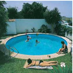 ... Schwimmbecken Rund 1,0mm